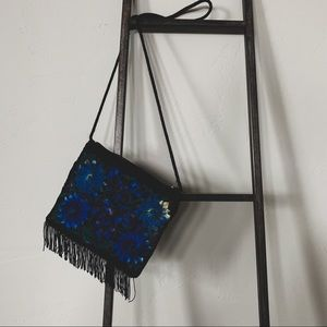 Vintage Embroidered Crossbody